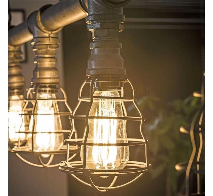 Industriële hanglamp Cali 5-lichts