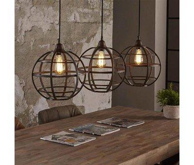 Industriële hanglamp Gracie 3-lichts