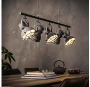 Industriële hanglamp Kourtney 5-lichts