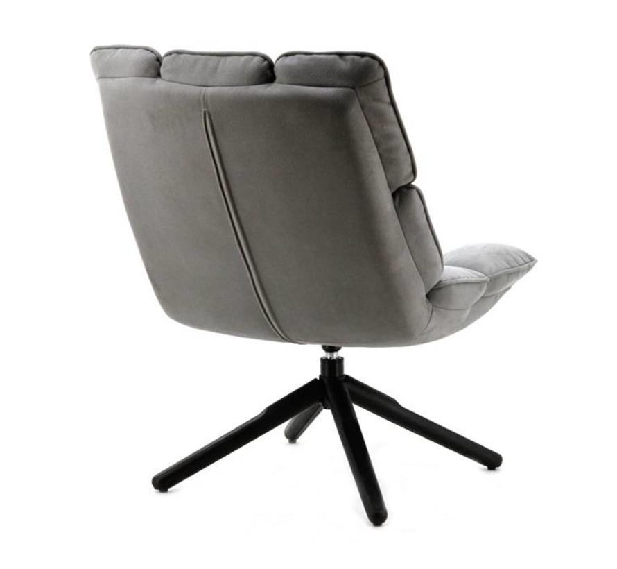 fauteuil Daan antraciet