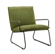 Eleonora industriële  fauteuil Delta groen