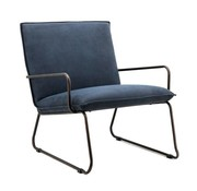 Eleonora industriële  fauteuil Delta blauw