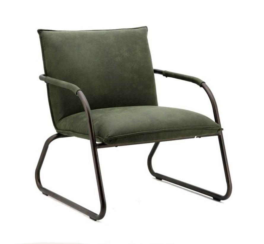 fauteuil Steve groen