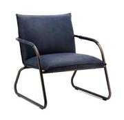 Eleonora fauteuil Steve blauw