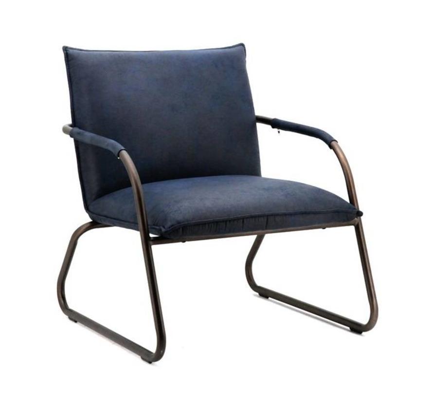 fauteuil Steve blauw