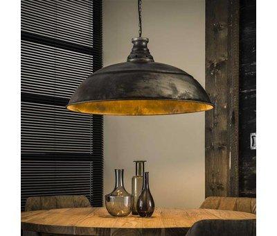 Industriële hanglamp Harley oud zilver Ø80