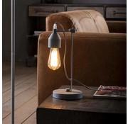 Tafellamp Josie 1-lichts grijs
