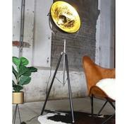 Bronx71 Vloerlamp Sunnie zwart goud