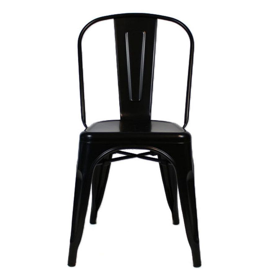 Retro café stoel Graham zwart