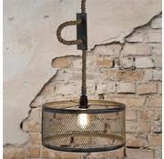 Industriële hanglamp Liam 1-lichts metaal Ø40