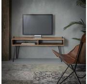 Industriële tv-meubel Zoë accacia hout