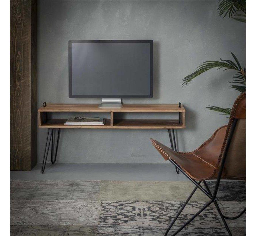 Industriële tv-meubel Zoë acaciahout