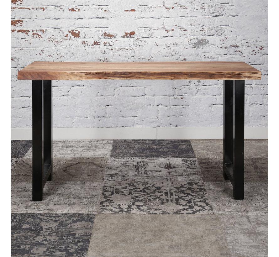 Industriële bartafel Elia acacia hout - 150 cm