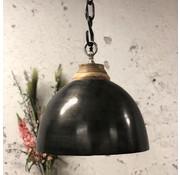 Bronx71 Industriële hanglamp Kira Raw Nickel Ø44 cm