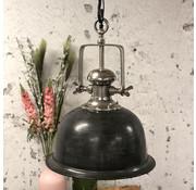 Bronx71 Industriële hanglamp Bailee Raw Nickel Ø45 cm