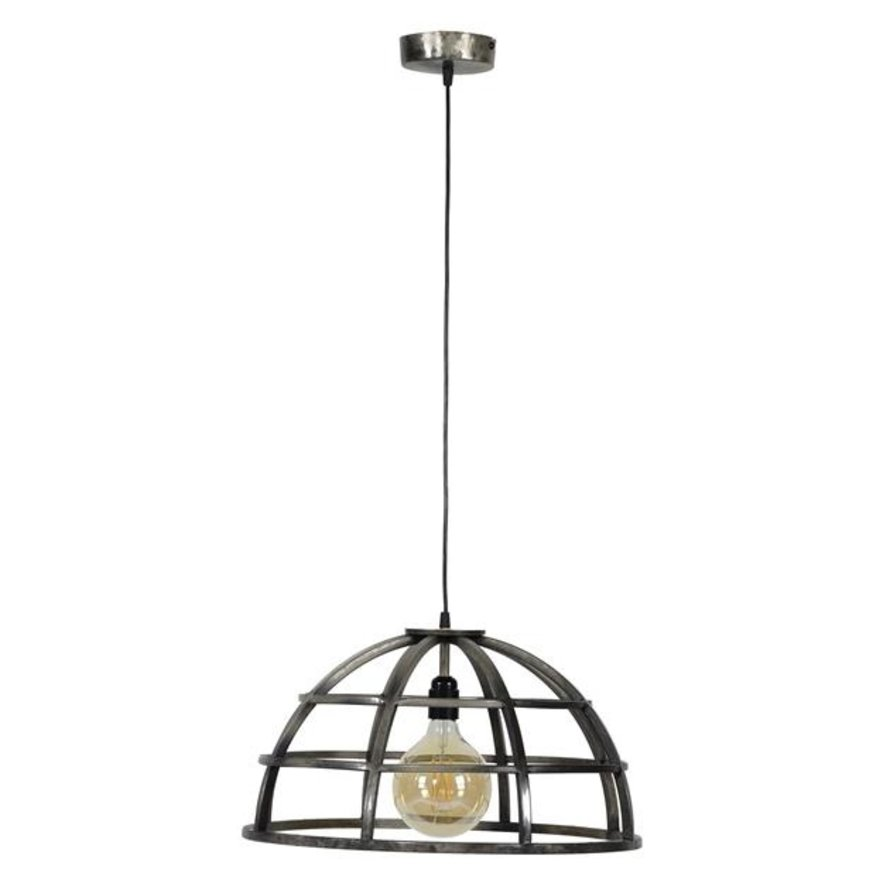 Industriële hanglamp Bowl ijzer Ø50 cm