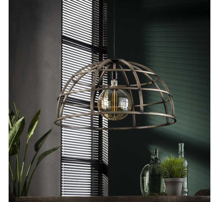 Industriële hanglamp Bowl ijzer Ø70 cm