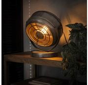 Tafellamp Venti Oud zilver