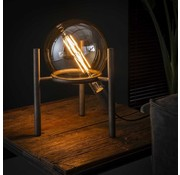 Tafellamp Big Cosmos Oud zilver