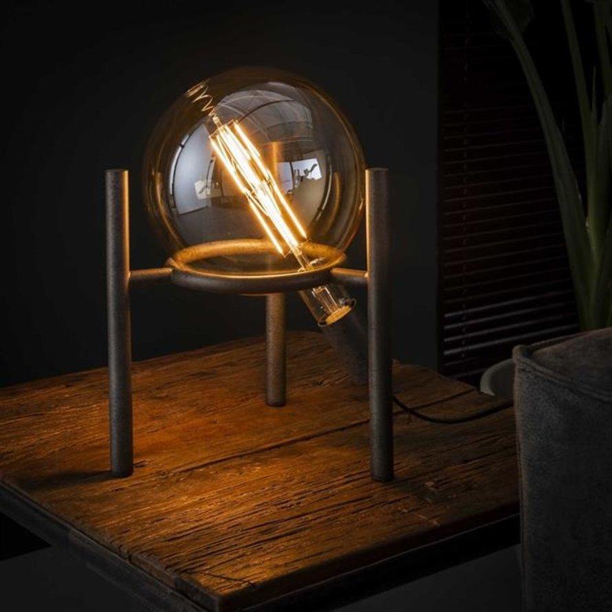 Industriële tafellamp Big Cosmos Oud zilver