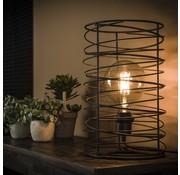 Tafellamp Curl charcoal