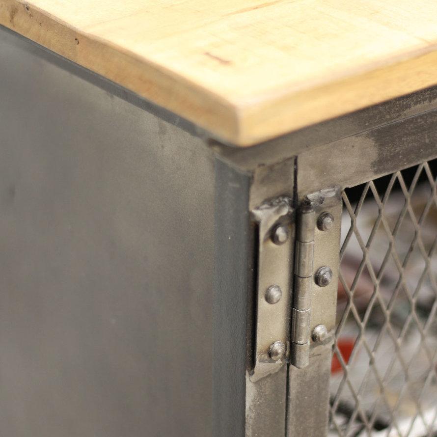Industrieel dressoir Jason mangohout