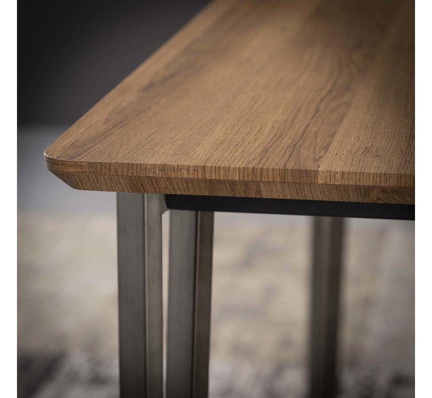 Industriële salontafel Johan MDF 120x60