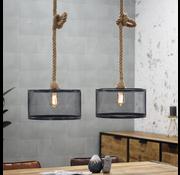 Bronx71 Industriële hanglamp Calgary 2-lichts metaal