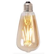 Bronx71 Lichtbron LED druppel 14,5 cm gold