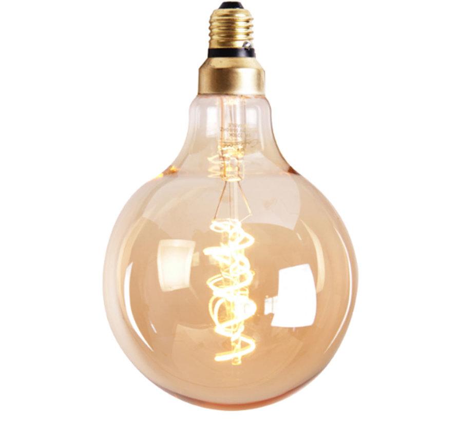 Lichtbron LED bol Ø15 cm gold