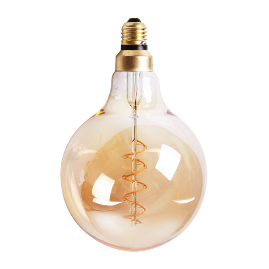 Lichtbron LED bol Ø12,5 cm gold 5W