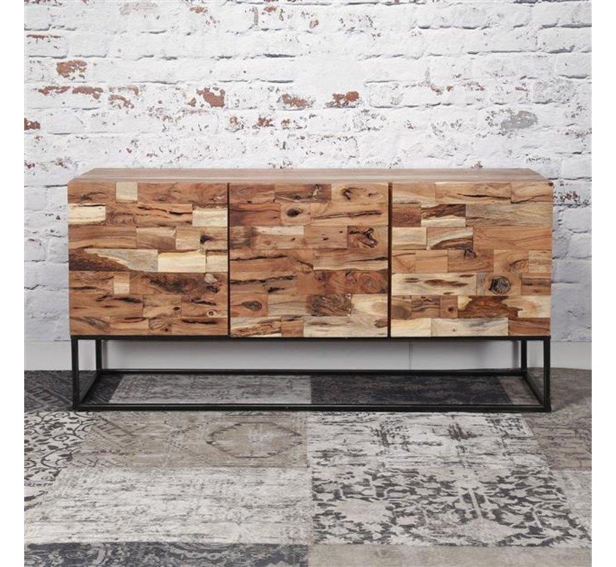 Industrieel dressoir Brick accaciahout