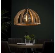 Landelijke hanglamp Lina 1-lichts mango hout