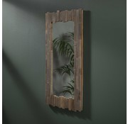 Houten Spiegel Mira teakhout 50x100 cm