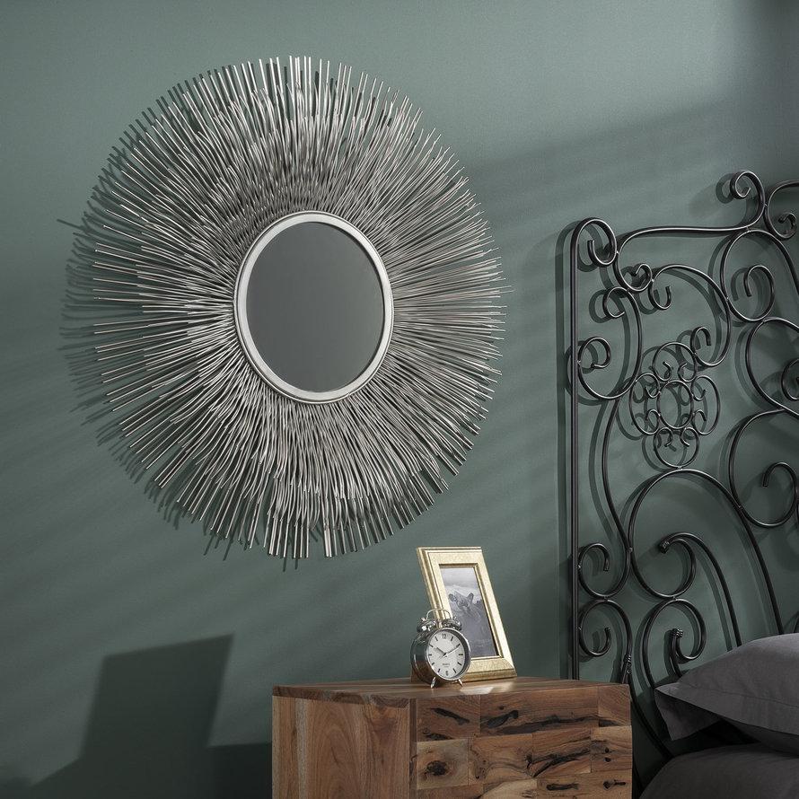 Design spiegel Rumbo Ø80 ijzer