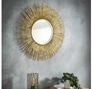 Design spiegel Rumbo Ø80 goudkleurig
