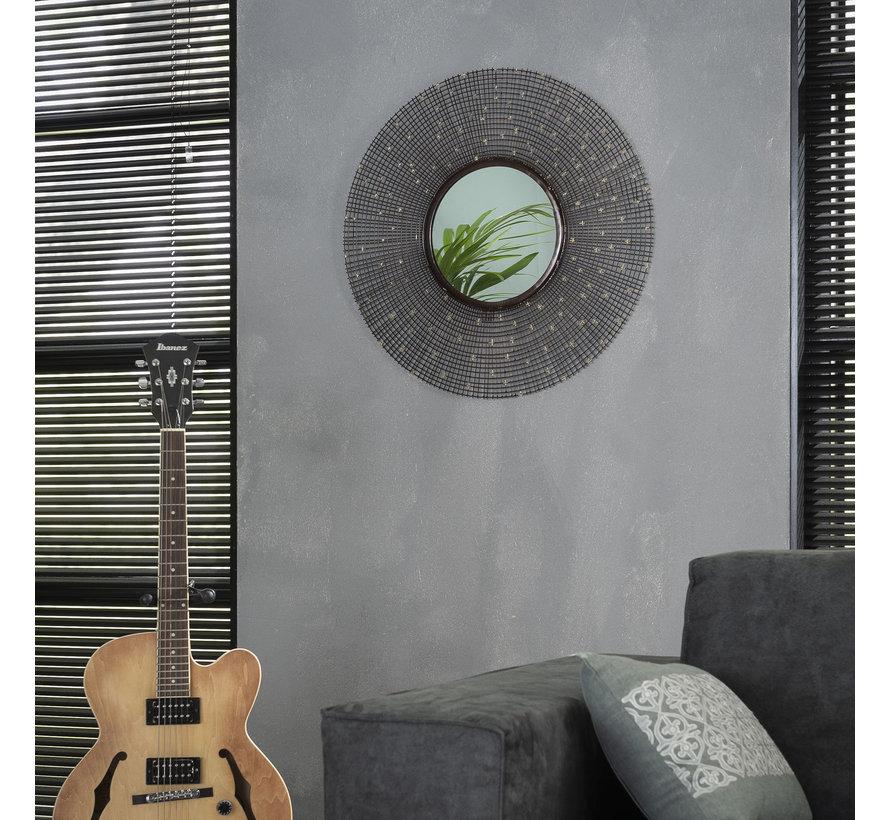 Design spiegel Star Ø65 ijzer
