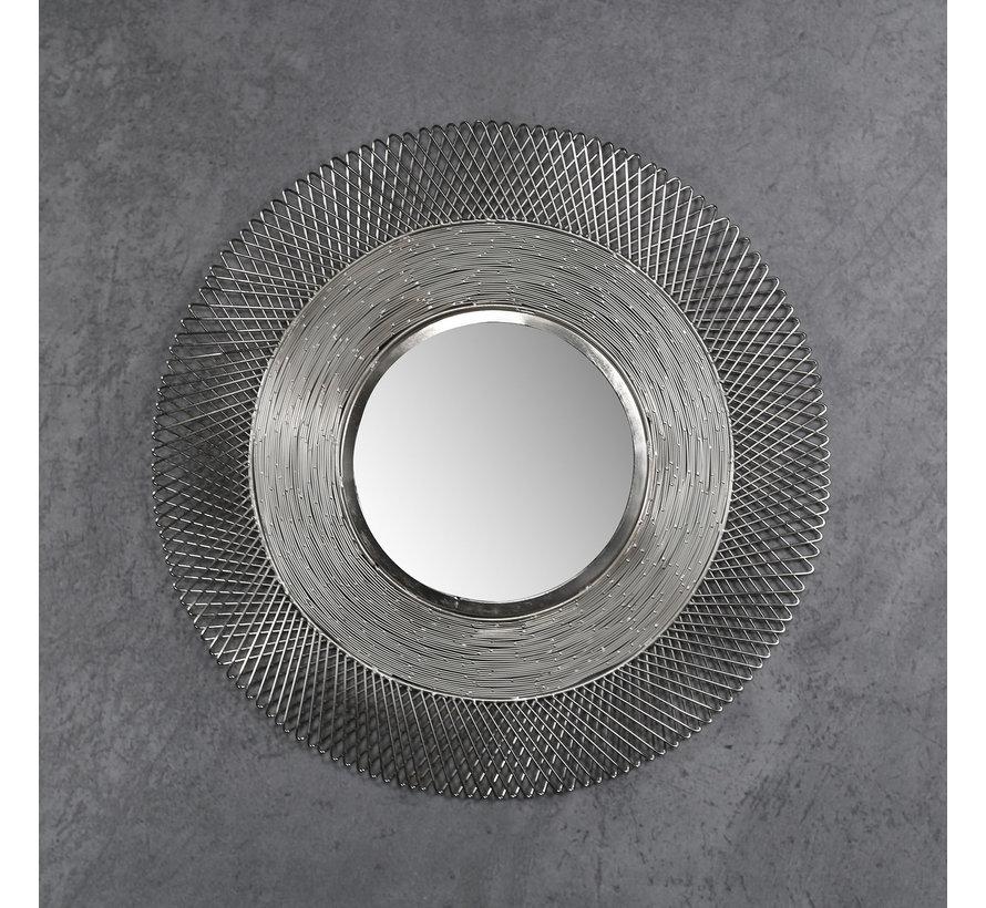 Design spiegel Oceane Ø65 ijzer