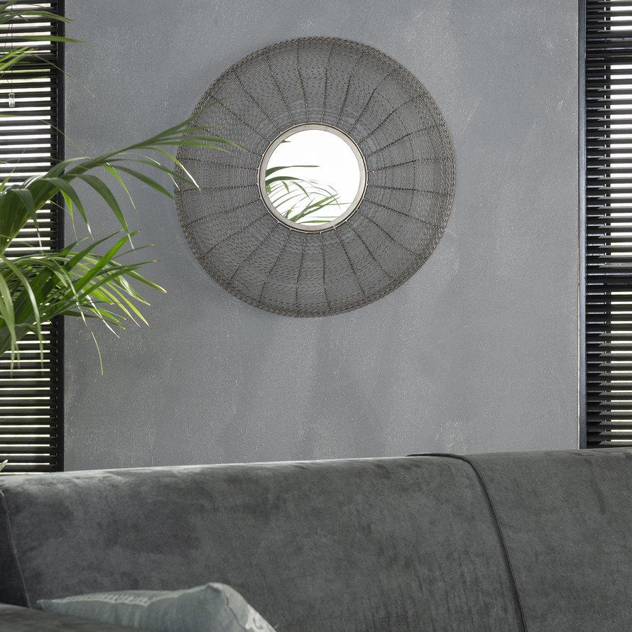 Design spiegel Tara Ø65 ijzer
