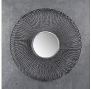 Design spiegel Flower Ø80 ijzer