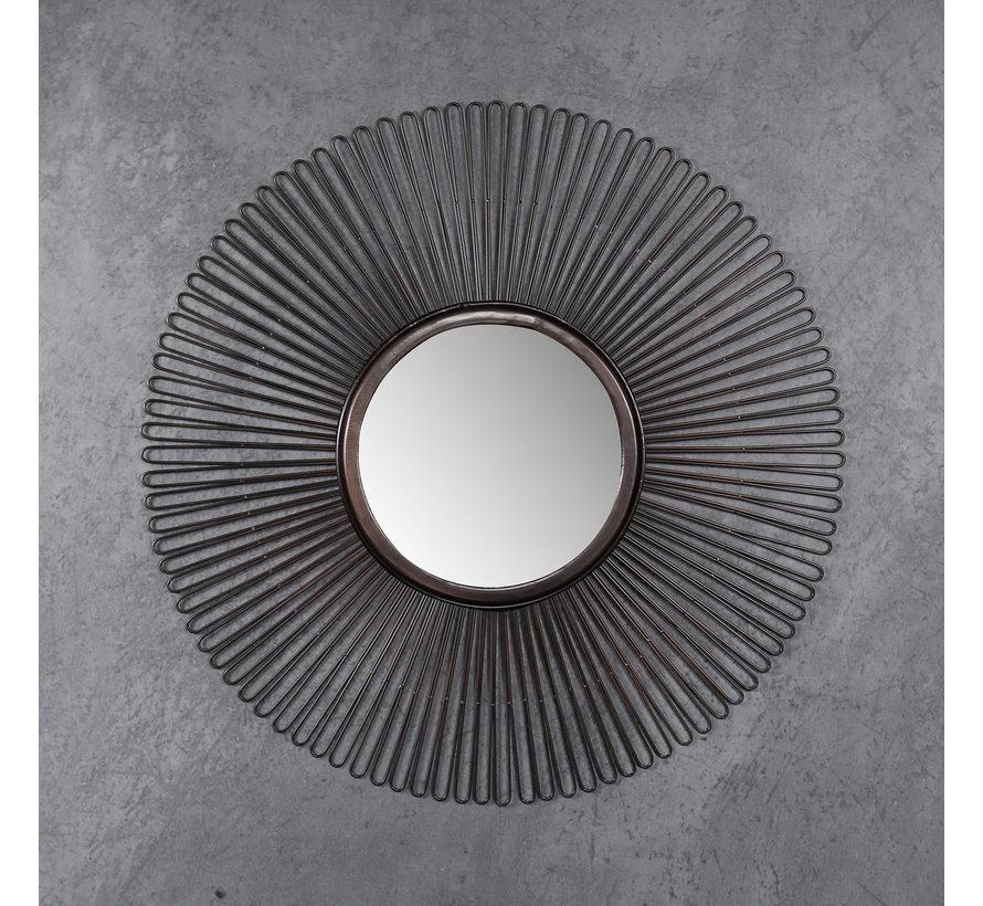 Design spiegel Kara Ø80 ijzer