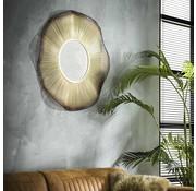 Design spiegel Medusa Ø80 goudkleurig