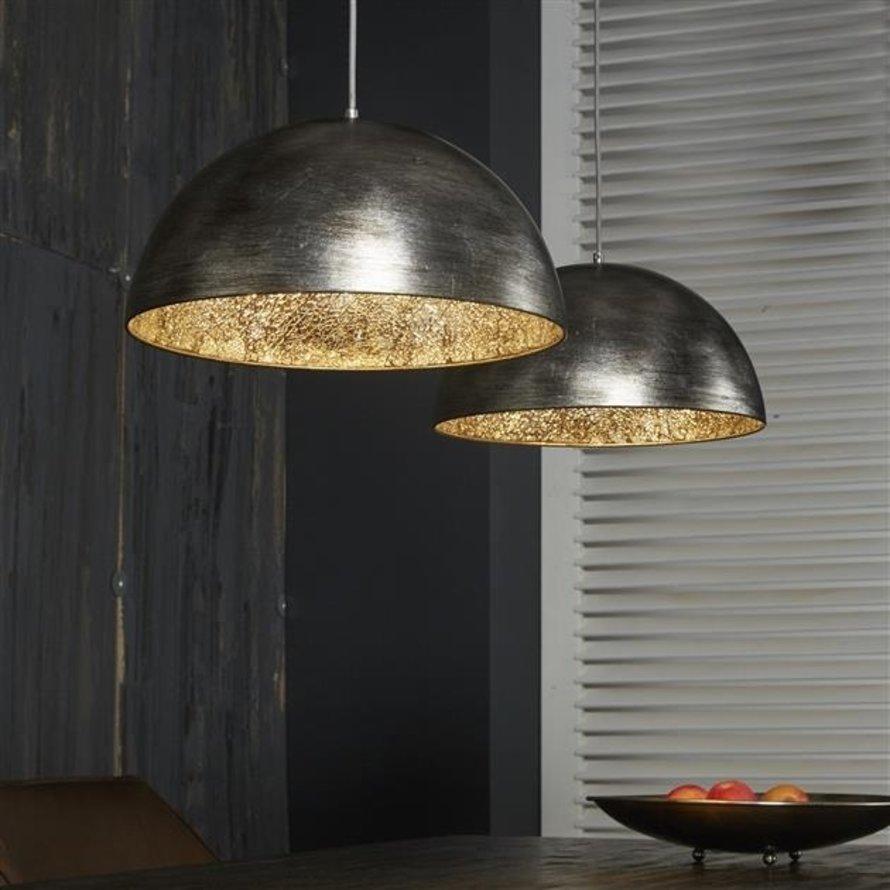 Hanglamp Mirror 2-lichts zilver