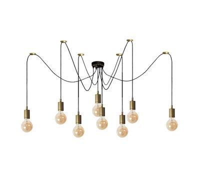 Bronx71 Moderne hanglamp Spider 8-lichts