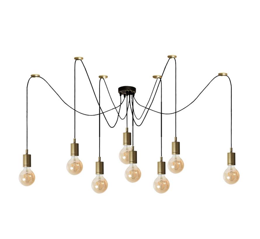 Moderne hanglamp Spider 8-lichts