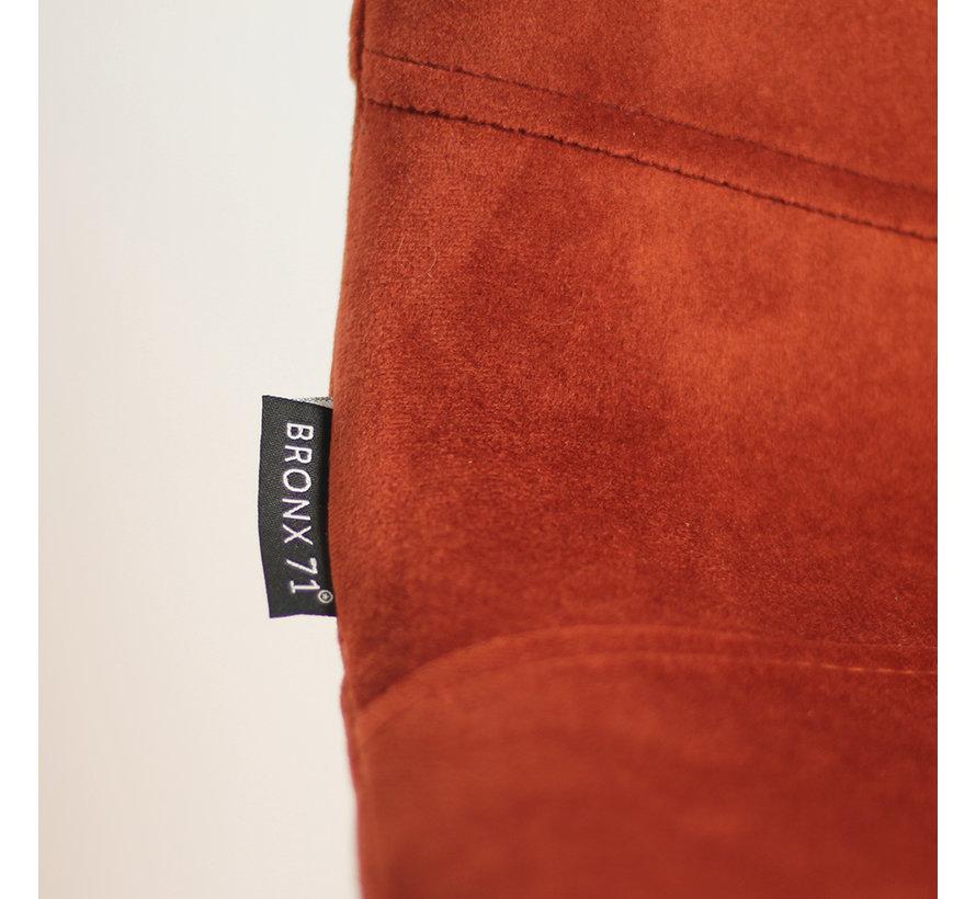 Velvet barkruk Mikky koper 68 - 79 cm