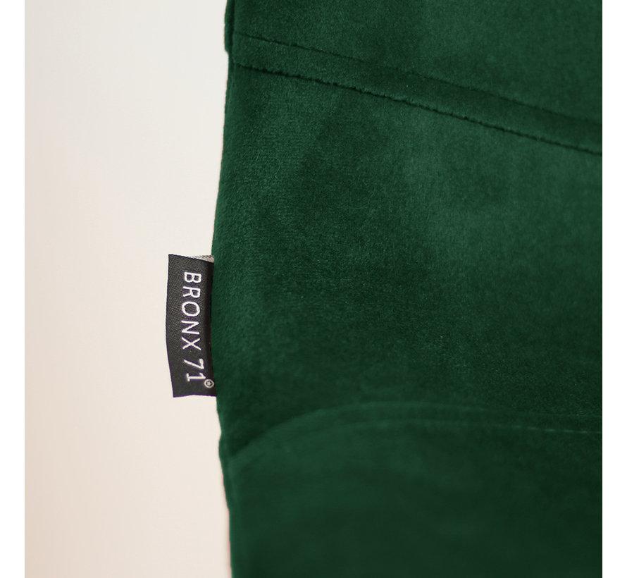 Velvet barkruk Mikky groen 68 - 79 cm