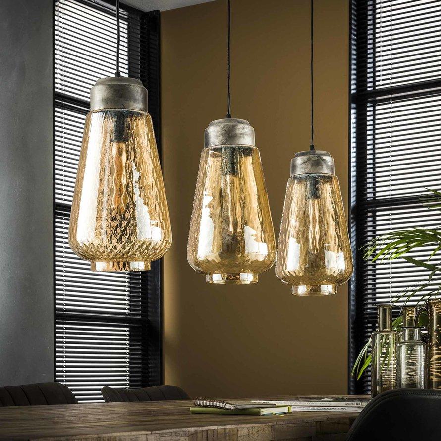 Moderne hanglamp Dox 3-lichts glas