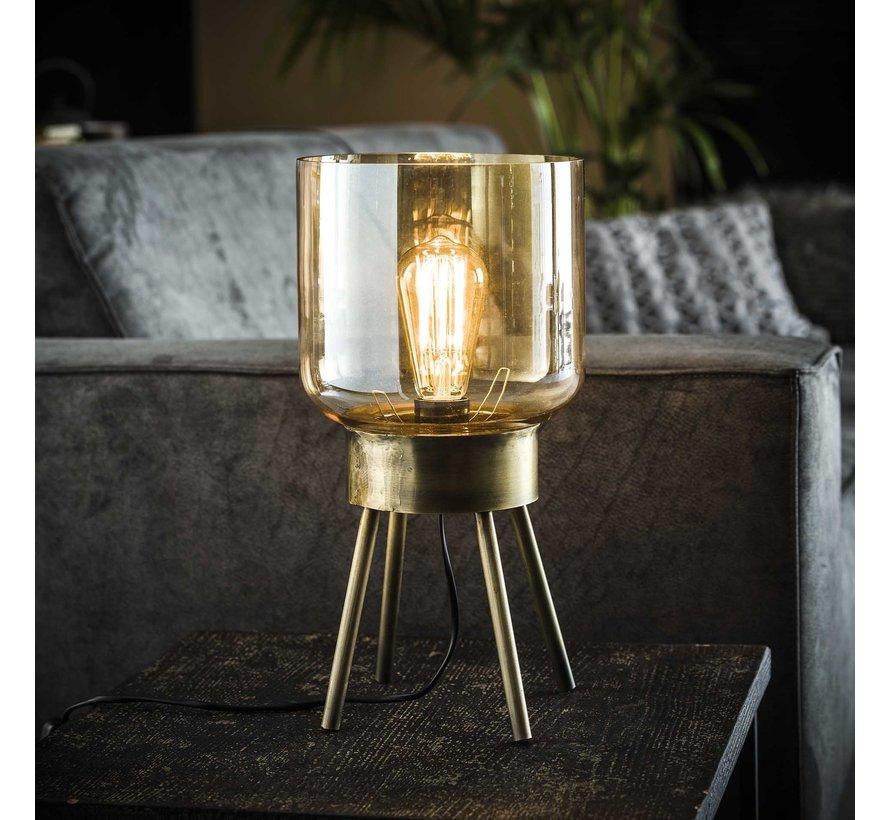 Moderne tafellamp Lia glas