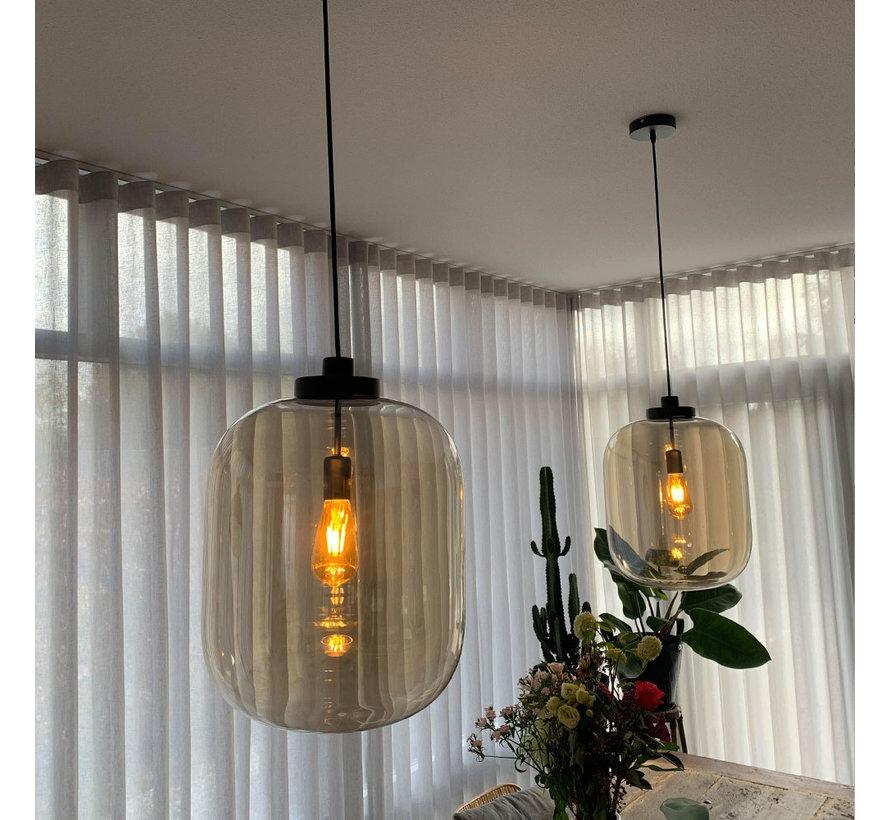 Hanglamp Amber 45 cm 1-lichts glas